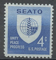Etats Unis - Vereinigte Staaten - USA 1960 Y&T N°685 - Michel N°779 Nsg - 4c Pacte De Manille - Ongebruikt