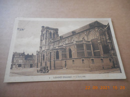 CPA - Lomme (bourg) -  L'église Be - Lomme