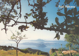Philippines - Taal Volcano Crater Seen From Taal Vista Lodge In Tagaytay , Meter Stamp - Philippines