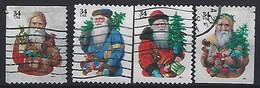 USA 2001  Christmas  (o) Mi.3495-3498 - Usados