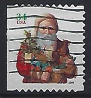 USA 2001  Christmas  (o) Mi.3499 BD (small Format) - Gebraucht