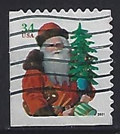 USA 2001  Christmas  (o) Mi.3501 BE (small Format) - Gebraucht