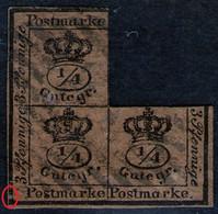 21 Helmstedt Auf 3/4 Silbergroschen Gelbbraun - Braunschweig Nr. 9 B - Brunswick