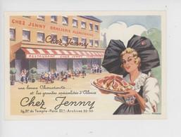 """Paris 3è """"Chez Jenny"""" Brasserie Alsacienne - Une Bonne Choucroute Et Les Grandes Spécialités Alsaciennes - Bar, Alberghi, Ristoranti"""