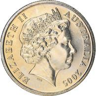 Monnaie, Australie, Elizabeth II, 5 Cents, 2005, Royal Australian Mint, SPL - 5 Cents