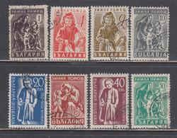 Bulgaria 1946 - Winterhilfe, Mi-Nr. 574/81, Used - Gebraucht