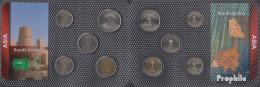 Saudi-Arabien Stgl./unzirkuliert Kursmünzen Stgl./unzirkuliert Ab 1976 5 Halala Bis 100 Halala - Saudi Arabia