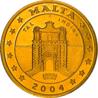 Monnaie, Malte, Fantasy Euro Patterns, 10 Cents, 2004, Proof, FDC, Laiton - Malta