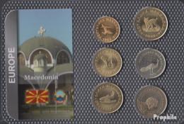 Makedonien Stgl./unzirkuliert Kursmünzen Stgl./unzirkuliert Ab 1993 50 Deni Bis 50 Denari - Macedonia