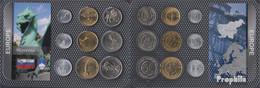 Slowenien Stgl./unzirkuliert Kursmünzen Stgl./unzirkuliert Ab 1992 10 Stotinov Bis 50 Tolarjev - Slovenia