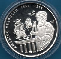 CUBA 10 PESOS 2002 Argent 999‰ Silver  PROOF Americo Vespucci - Cuba