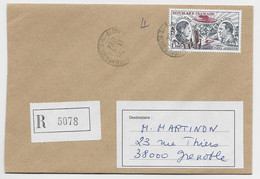 FRANCE PA 15FR GUILLAUMET CODOS SEULL ETTRE REC PARIS 13.4.1984 - 1961-....