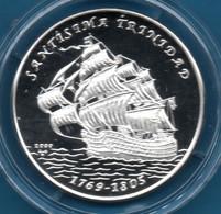 CUBA 10 PESOS 2000 KM# 758  Argent 999‰ Silver  PROOF SANTISIMA TRINIDAD - Cuba
