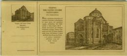 BOLOGNA - VIA INDIPENDENZA - TEMPIO DEL SACRO CUORE SANTUARIO - EDIZ. MANTOVANI 1927 + APPENDICE  (7930) - Bologna
