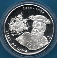 CUBA 10 PESOS 2002 Argent 999‰ Silver  PROOF Vasco De Gama Bateau - Cuba