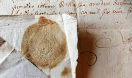 Lettre Du Marquis De Montfrin Aux Sénate De Nîmes.1650 . - Autographs