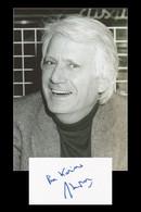 Jorge Semprún (1923-2011) - Écrivain Espagnol - Carte Dédicacée + Photo - 2002 - Autographs