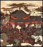 Cina / China 1997: Foglietto Fuorilegge Della Palude / Outlaws Of The Marsh S/S ** - Blocks & Kleinbögen