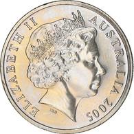 Monnaie, Australie, Elizabeth II, 10 Cents, 2005, Royal Australian Mint, SPL - 10 Cents