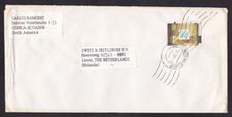 Ecuador: Cover To Netherlands, 1991, 1 Stamp, OPEP, Logo (minor Damage) - Ecuador