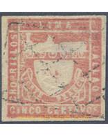 Ref. 654998 * USED * - PERU. 1871. COAT OF ARMS . ESCUDOS DE ARMAS - Peru