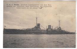 CPA MARINE NAVIRE DE GUERRE  SMS S.M.S.MOLTKE - Andere