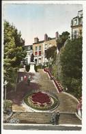 """BLOIS ( Loir Et Cher ) """" LE VAL DE LOIRE """", Escalier Denis Papin Et Sa Statue , 1961 - Blois"""