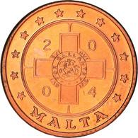 Monnaie, Malte, Fantasy Euro Patterns, 2 Cents, 2004, Proof, FDC, Cuivre - Malta