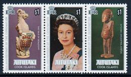 Aitutaki 1978 Set Of Stamps To Celebrate The 25th Anniversary Of The Coronation In Unmounted Mint. - Aitutaki