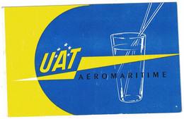 UAT AEROMARITIME BON POUR UN RAFRAICHISSEMENT PASS FOR A FREE DRINK - Tickets - Vouchers