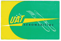 UAT AEROMARITIME BON POUR UN REPAS PASS FOR A FREE MEAL - Tickets - Vouchers
