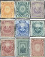 Ref. 655003 * HINGED * - PERU. 1874. SOLES Y ESCUDOS DE ARMAS, RELIEVE - Peru