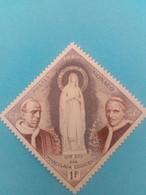 MONACO - Principauté - Timbre 1958 : Religion - 100 Ans Des Apparitions De La Vierge Marie à Bernadette SOUBIROUS - Unused Stamps