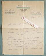 L.A.S 1930 Andrée BAUER THEROND Femme De Théâtre Prix Du Conservatoire - Maurette - Comoedia - Lettre Autographe - Autographs