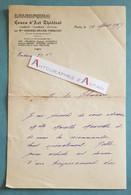 L.A.S 1927 Andrée BAUER THEROND Femme De Théâtre Prix Du Conservatoire - LEHMANN - Maurette - Lettre Autographe - Autographs