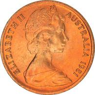 Monnaie, Australie, Elizabeth II, Cent, 1981, Royal Canadian Mint, SPL, Bronze - Cent