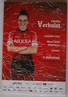 CYCLISME: CYCLISTE : EQUIPE ARKEA FEMININE 2021 COMPLETE - Cycling