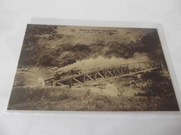 A 3 Léopoldville Matadi Railway Pont Sur La Rivière - Kinshasa - Leopoldville