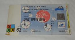 RARE TICKET, BILLET D'ENTREE MATCH FRANCE CROATIE DEMI FINALE COUPE DU MONDE FOOT FOOTBALL FIFA 1998 98, WORLD CUP - Tickets - Vouchers