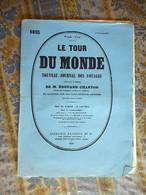 LE TOUR DU MONDE 06/ 11/ 1880 CAUCASE IMERETHIE KOUTAIS MONASTERE GELATHI CHOTZAMETH LESDINGHA PRINCE GEORGIEN - 1850 - 1899