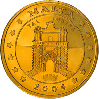Monnaie, Malte, Fantasy Euro Patterns, 50 Cents, 2004, Proof, FDC, Laiton - Malta