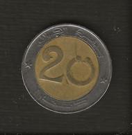 Algérie > Monnaie >  Pièce 20 Dinars, 1993 - Algeria
