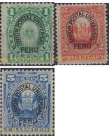 Ref. 655022 * HINGED * - PERU. 1882. BASIC SET . SERIE BASICA - Peru