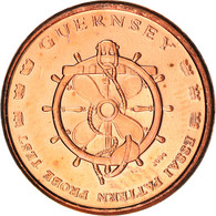 Monnaie, Guernsey, 5 Cents, 2004, Proof, FDC, Cuivre - Guernsey