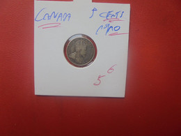 CANADA 5 Cents 1910 ARGENT (A.1) - Canada