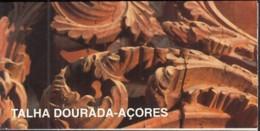 AZOREN  Markenheftchen 14, Postfrisch **, Religiöse Kunst Des 18. Jahrhunderts: Vergoldete Holzschnitzereien 1997 - Azores