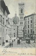 FIRENZE - Via Dei Pecori ( Tram  Attelage Chevaux ) - Firenze