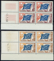 FRANCE - Service YT 17/18 Coins Datés - Neufs ** - Dienstpost