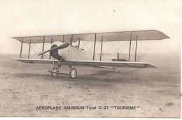 A/447             Aviation         Aéroplane Caudron Type-27  -tourisme- - 1914-1918: 1st War