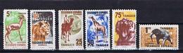Tanger, Tangier: 6 Huerfanos De Telegrafos, Tiere, Animals ** Mnh, Postfrisch - Spanisch-Marokko